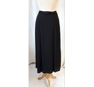 M&S Marks & Spencer long pleated Black Size: 10