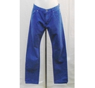 Reiss cotton trousers blue Size: L