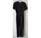 M&S Collection Short sleeved Jumpsuit Black Size: 6