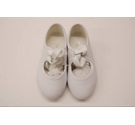 Roch Valley Tap Shoes White Size: Infant 5