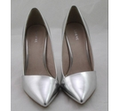 Next Court Shoes Silver Size: 5.5