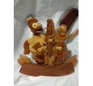 The Simpsons Wooden Wall Plaque