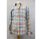 Jack Wills checked cotton shirt multicoloured Size: S