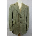 Harris Tweed vintage jacket brown mix Size: L