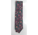 Liberty Silk Tie Green/Red Size: One size