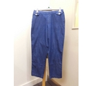 M&S Trousers/Jeans Blue Size: 30""