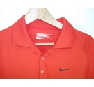 Nike Tour Golf Shirt Red Size: M
