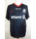 Saracens Allianz / Bachelor 19 T-shirt Black Size: L
