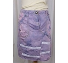 Utility Up-cycled Skirt Pink Size: 12