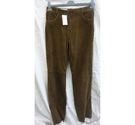 Gerry Weber New Suede Trousers Size 14 Brown Size: 32""