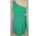 Zara Trafaluc Collection NEW Cocktail Dress Green Size: L