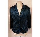 Whimsy Vintage Jacket Blue Green Size: 18