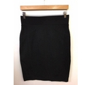 Principles Stretch Fitted Skirt Black Size: 10