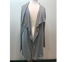 M&S Collection Long Cardigan- Grey- Size: L