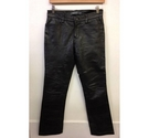 Gap Leather Boot cut Trousers Black Size: XS