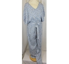 Unbranded Jumpsuit Pale Blue Multi Size: 12