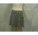 Next Skirt Black and White Size: 10