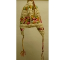 Nirvanna Designs Hand-Knitted Wool Crochet Hat Multi-Coloured Size: 9 - 10 Years