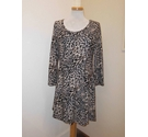 New Look Knee length dress Brown Size: XL
