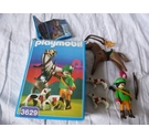 Playmobil Country Man Robin Hood Horse and Dogs 3629