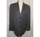 M&S Collection all wool casual jacket, single breasted black and white Size: M
