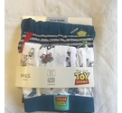 M&S Toy Story Cotton Trunks x 3 Multi-Coloured Size: 13 - 14 Years