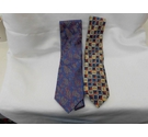 1 Pierre Cardin 1Siena 2 Silk ties Blue Size: Not specified