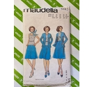 Maudella 5982 Jacket, Top and Skirt sizes 10 - 18