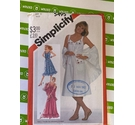 Simplicity 5495 80s dress pattern. Not used