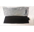 RAYON AK CO Adjustable Cummerbund Black Size: One size