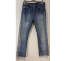 "Levis 501 31"" Waist 32"" Leg Jeans in Blue Denim Size: S"