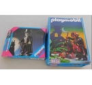 Boxed Playmobil Dracula (4506) and Witch with Cauldron (3838) Halloween Sets