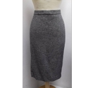 Pure Collection Pencil skirt Black/ivory Size: 12