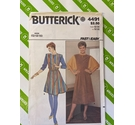 Butterick 4491 80s Tunic sewing pattern. Not used