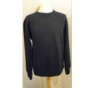 Crew Clothing Logo Crew Neck Dark Navy Size: S
