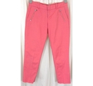 DKNY Chino Trousers Pink Size: 30""