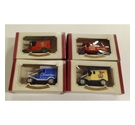Oxford Die-Cast Metal Replica Vans x4