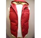 Jack Wills hooded gilet red Size: XS