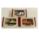 Oxford Die Cast Metal Replica Vans x3