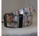 Mens Belt Patterned Size: XL