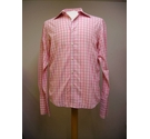 Redherring shirt pink checked Size: L