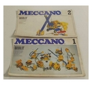 Vintage Meccano Instruction Manuals for Models