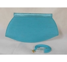 Jacques Vert Clutch bag Turquoise Size: S