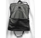 Quindici Leather Travel Bag Black Size: Not specified