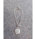 solid silver fob jewelery silver Size: medium