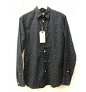 Heritage BNWT Shirt with Flower Print, Navy Size: M