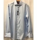 M&S Marks & Spencer BNWT Luxury Collection Shirt, Blue Size: L
