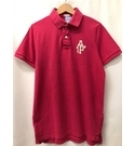 Abercrombie & Fitch Muscle Fit Polo Top, Pink Size: M