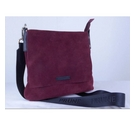 Prune hand bag maroon Size: One size