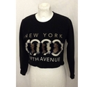 River Island long sleeved top black Size: 9 - 10 Years